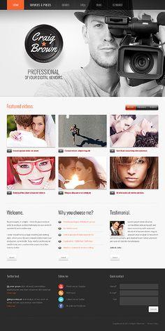 Photographer Portfolio WordPress Theme #photo #blog #website http://www.templatemonster.com/wordpress-themes/41583.html?utm_source=pinterest&utm_medium=timeline&utm_campaign=conn