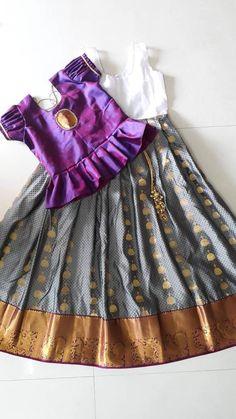 Kids Dress Wear, Dresses Kids Girl, Girls, Kids Frocks Design, Baby Frocks Designs, Kids Lehenga, Baby Girl Lehenga, 1st Birthday Girl Dress, Mom Daughter Matching Dresses