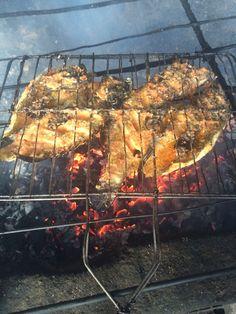 Ikan bakar rica bumbu Manado