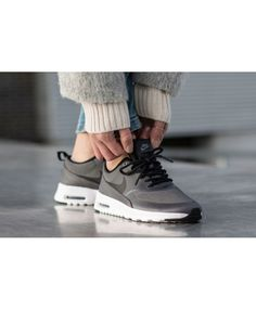 caccd3f8d98 Adidas Women Shoes - Nike Air Max Thea TXT  Dark Grey - We reveal the news  in sneakers for spring summer 2017