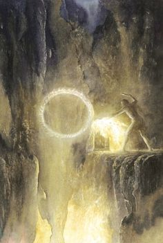 THE FORGING OF THE RING BY ALAN LEE