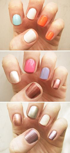 3 fun alternatives to the status nail.