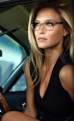 Cute Glasses, New Glasses, Girls With Glasses, Clear Glasses Frames Women, Glasses 2014, Ladies Glasses, Most Beautiful Eyes, Beautiful Women, Beautiful Models