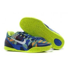 d11ea5c49806 High-quality White Nike Mens Shoes Zoom Kobe Ix 9 Em Xdr Blue Green Colored