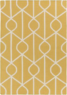 Create a unique look to your room floor by adding this Artistic Weavers York Ellie Yellow Indoor Accent Rug. Contemporary Area Rugs, Modern Rugs, Discount Area Rugs, Clearance Rugs, Small Area Rugs, Trellis Pattern, Yellow Area Rugs, Braided Rugs, Geometric Rug