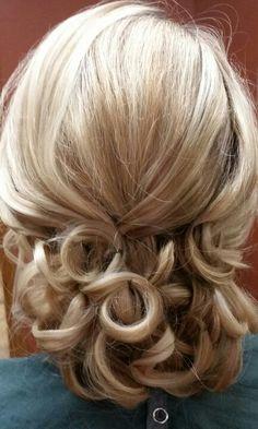 #bridal #updo #trialrun