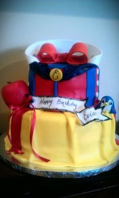 Snow White cake from another party