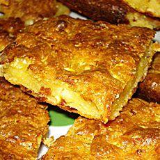 Μπατζίνα (Τυροκολοκυθόπιτα) Batzina Tyrokolokithopita - Greek pie with feta and zucchini