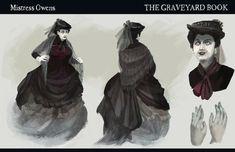 Motherly Miss Owens Neil Gaiman, Anubis, The Graveyard Book, Stage Play, Cultura Pop, Novels, Fandoms, Fan Art, Books