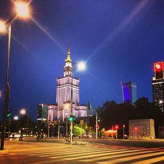 Palac Kultury I Nauky.  Warsaw.