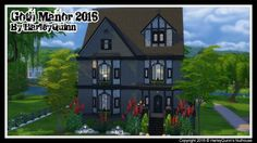 Harley Quinn Nuthouse: Goth Manor 2016 • Sims 4 Downloads