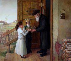 Boris Dubrov (Russian/Israeli, born 1979)  'Purim, mishloach manot'