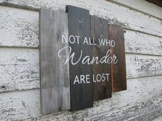 Not all who wander are lost by TrueRootsDesigns on Etsy