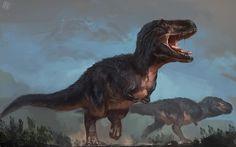 Tyrannosaurus rex Arte de Raph04art