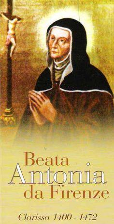 Santa Antonia de Florencia viuda y fundadora s. XV