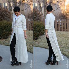 FLOOR LENGTH DUSTER SEW-ALONG! - Mimi G Style