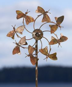 Butterfly Kinetic Garden Stake #zulily #zulilyfinds