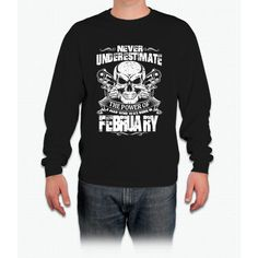 Born in february Long Sleeve T-Shirt
