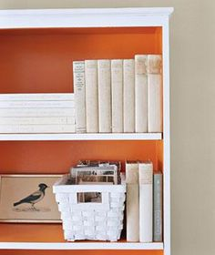 Find inspiration for your own shelves and bookcases in these great photos.