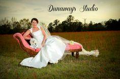 Outdoor Bridal Portrait Photography