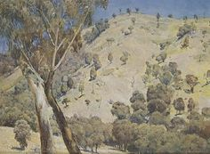 Australian landscape - Tom Roberts Australian Painting, Australian Artists, Sketch Painting, Painting & Drawing, Terra Australis, Oil Painting Reproductions, Cool Paintings, Impressionism, Picture Frames