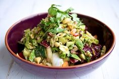 Try this Asian Chopped Salad from The Raw Chef and if you want more quick, easy and simple top raw food recipes like this, check out Weekday Raw.