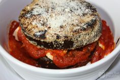 Eggplant and Chicken Parmesan | Busy But Healthy