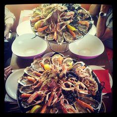Plateaux de fruits de mer... pour 4 !