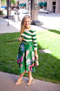 Everyday Fancy: Stripes and Florals