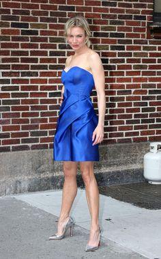 Renee Zellweger Photos - Renee Zellweger Outside the 'Late Show With David Letterman' - Zimbio