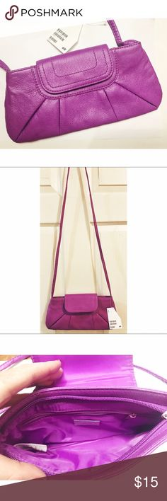 H&M • NWT Crossbody Purse H&M • NWT Crossbody Purse. Purple adorable Crossbody purse. New with tags. So cute!  . . . . . Suggested Used! 💁🏼 Non-Smoking Household! 🌿 A passionate Posher! 👗 Make an Offer! 🛍 H&M Bags Crossbody Bags