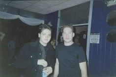 Old shot of Gerard and Ray