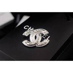 Chanel Brooches, Alloy, 5.3cm * 4cm