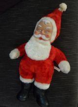 """Vintage 20"""" Plush BIJOU Santa Toy Doll Christmas"""