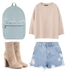 """""""Style Set #141"""" by thestylelab ❤ liked on Polyvore featuring Sofie D'hoore, Calvin Klein, Gianvito Rossi and Topshop"""
