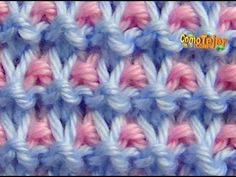 Cómo Tejer Punto ROPA BEBÉ #17 How to Knit a BABY STITCH 2 Agujas (413)