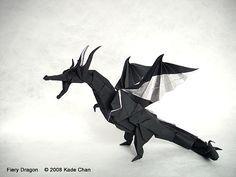 Fiery Dragon 摺紙噴火飛龍教學 (Kade Chan) - paso a paso