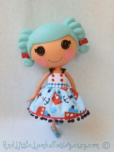 "Lalaloopsy Clothes - ""Anchor's Aweigh"" - Dress"