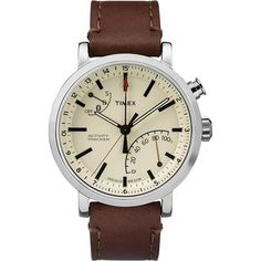 Timex Metropolitan  Watch - Tan Dial/Brown Leather