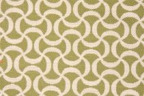 3 Yards Regal Fabrics Squiggle Upholstery Fabric in Leaf