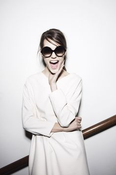 Style: scream with the right black oval sunglasses! http://www.smartbuyglasses.co.uk/designer-sunglasses/general/-Women-Oval--Black-------------------