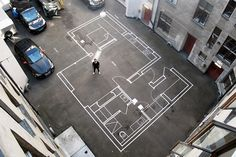 One to One: Full-Scale Floor Plans Help Architects Walk Clients Through Designs - 99% Invisible
