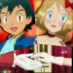 Beautiful <3 Amourshipping ^.^ <3 Kudos to whoever made this