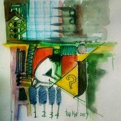 Dzikir#art #pray #watercolor #abstract #abstractart #contemporary #modern #modernart #instaart #instagood Modern Art, Contemporary, Insta Art, Pray, Abstract Art, Watercolor, Painting, Abstract, Pen And Wash