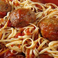 Italian Meatballs for Spaghetti by Ashley