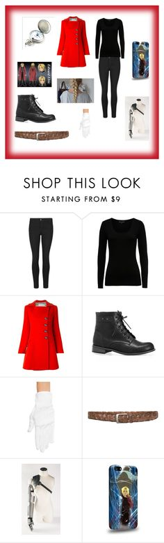 """Edward Elric"" by fashion-anime-animals-reading ❤ liked on Polyvore featuring French Connection, Aquilano.Rimondi and Avenue"