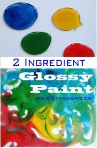 2-Ingredient Glossy Paint