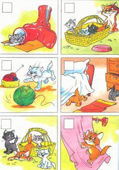 Story Sequencing, Comics, Kids, Learn Russian, Young Children, Boys, Children, Cartoons, Comic