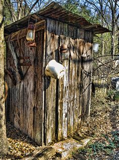 outhouse by artbylink, via Flickr