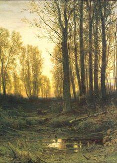 Twilight -  Ivan Shishkin, 1874